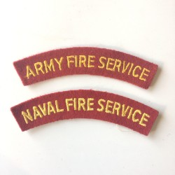Army Fire Service + Naval...