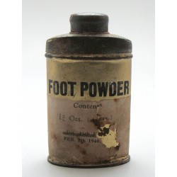 Foot Powder 1940