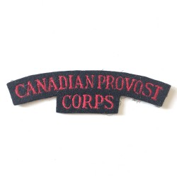 Canadian Provost Corps...