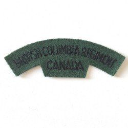 British Columbia Regiment...