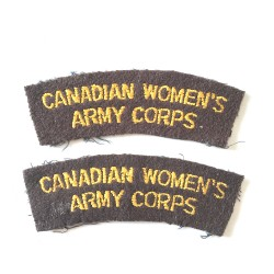 Canadian Women's Army Corps...