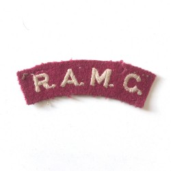 R.A.M.C. Royal Army Medical...