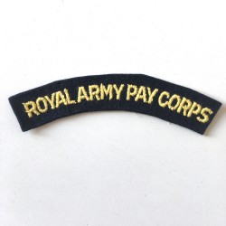 Royal Army Pay Corps...