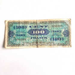 100 Francs 1944 Allied...
