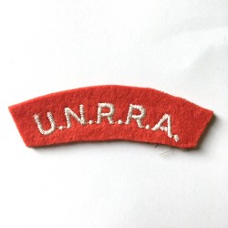 UNRRA shoulder title