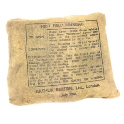 First Field Dressing - 1943...