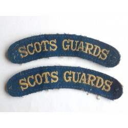 Scots Guards shoulder...