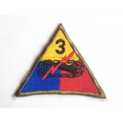 3rd US Armored Division patch