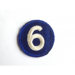 6th US Corps patch