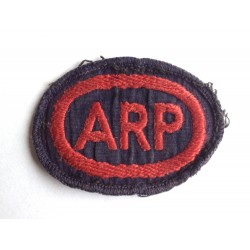 ARP Air Raid Precaution...