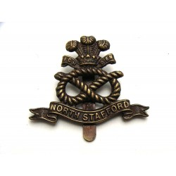 North Stafford cap badge