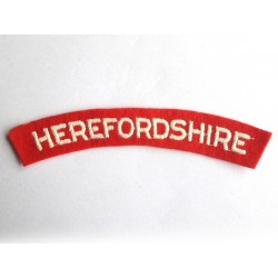 Herefordshire shoulder title