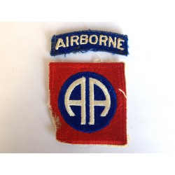 82nd US Airborne patch