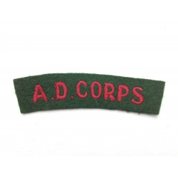 Army Dental AD Corps...