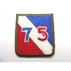 75th US Infantry Division...