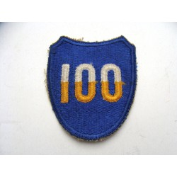 100th US Infantry Division...