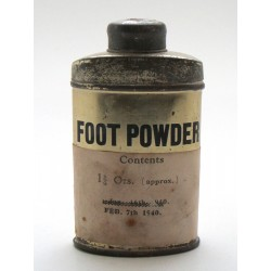 Foot Powder - good condition