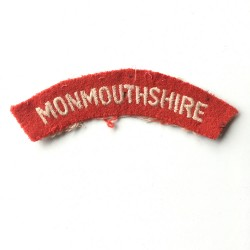 Monmouthshire - Shoulder Title